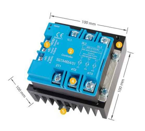 SmartFox Thyristorsteller 400V 6 kW